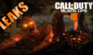 Call of Duty Black Ops 4 Leaks